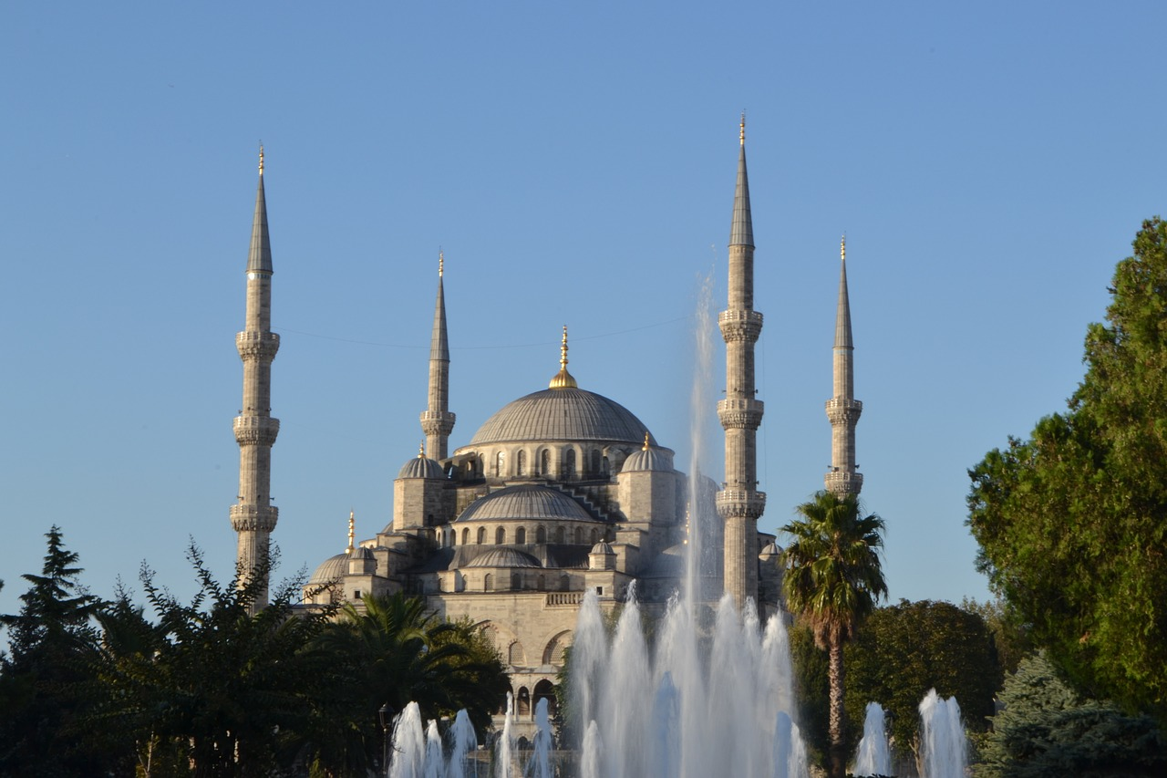 Photo: The Blue Mosque, Istanbul. http://pixabay.com/en/ahmetsultan-mosque-m-istanbul-710597/